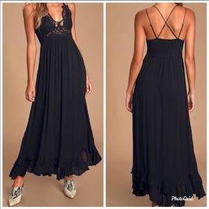 Free People Adella Maxi Dress NWT!